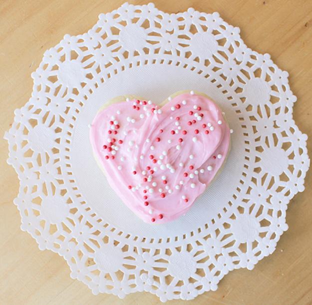 DIY Valentines Day Cookies - Valentine