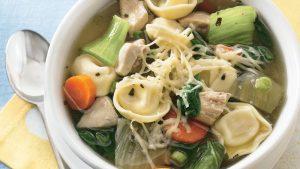 Chicken and Vegetable Tortellini Stew