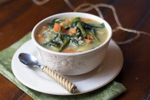 Creamy Wild Rice & Vegetable Stew