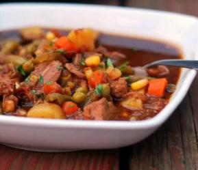 Instant Pot Vegetable Beef Stew