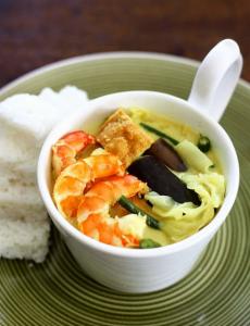 Malaysian Prawn Vegetables Coconut Stew