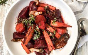 Red Wine Root Vegetables Stew