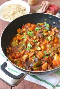 Simple Mediterranean Vegetable Stew