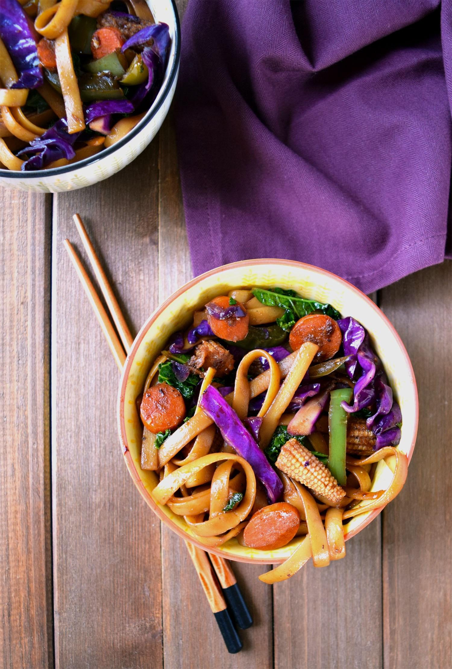 Vegan Mongolian Stir-fry
