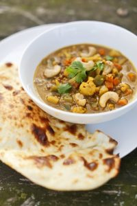 Vegetarian Mulligatawny (Indian-Inspired Vegetable Stew)