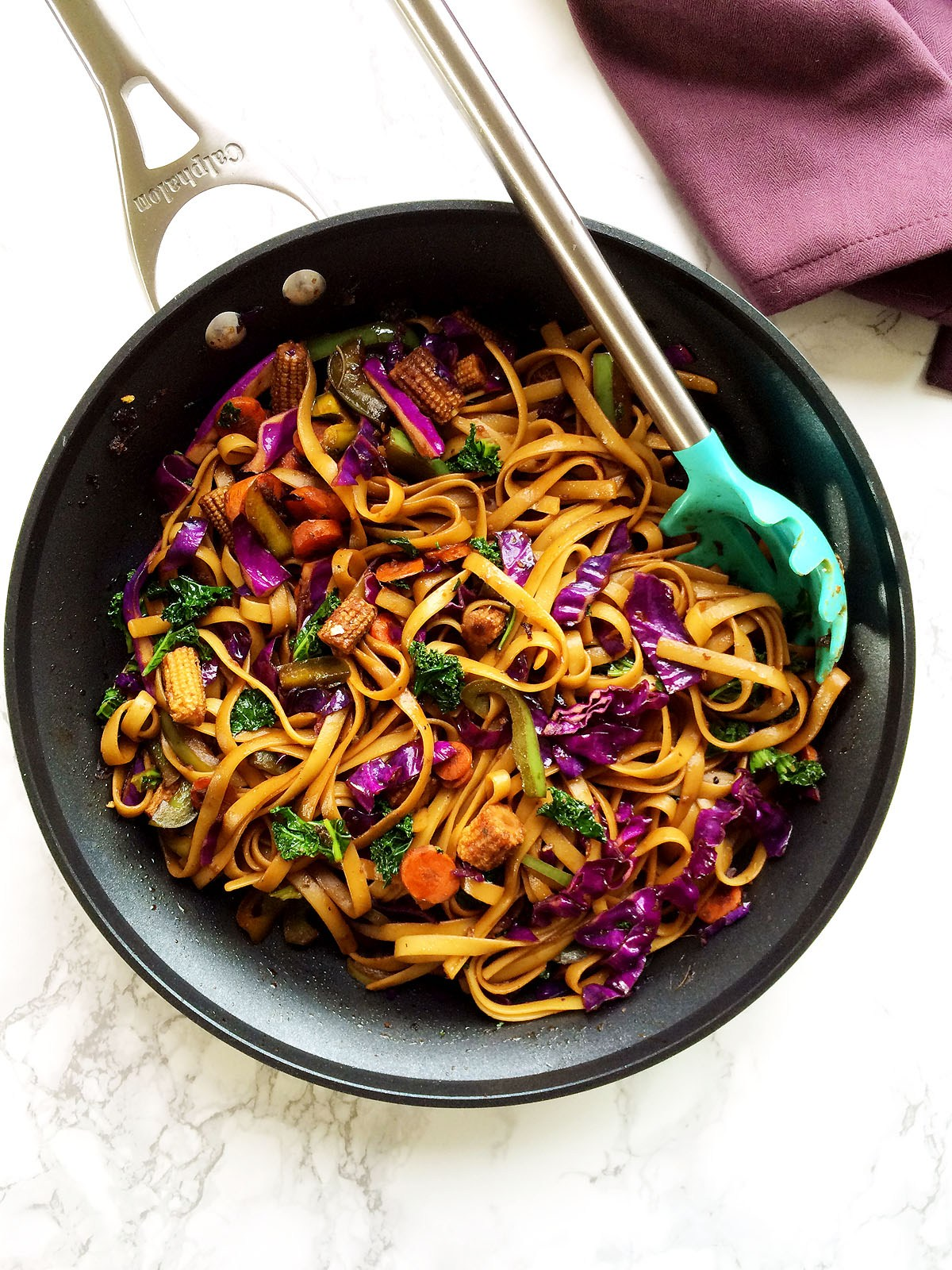 Veggies Stir Fry in Spicy Soy Ginger Sauce