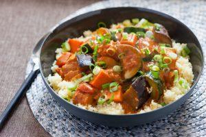 West African Vegetable & Peanut Stew