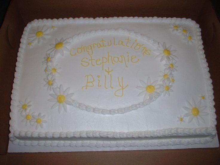 1/2 Sheet Cake  1000 images about Sheet cake designs on Pinterest