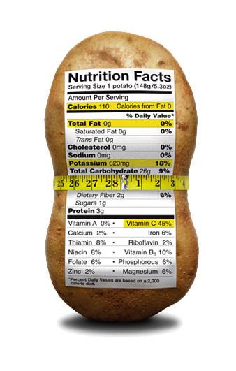 1 Potato Calories  Health & Nutrition Colorado Potato