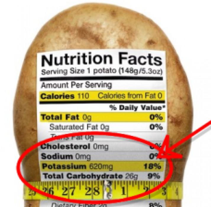 1 Potato Calories  Potatoes good for your heart
