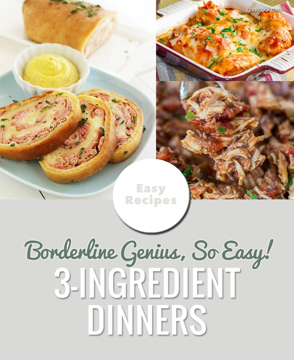 3 Ingredient Dinners  3 Ingre nt Dinners That Will Change Your Life Everyday