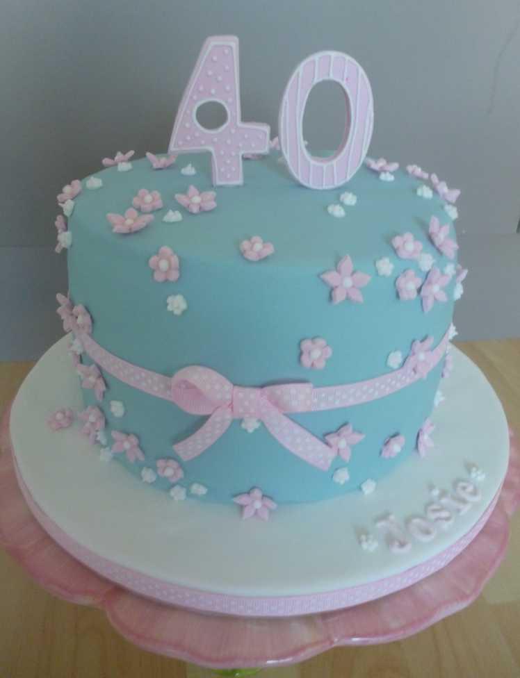 40Th Birthday Cake  The Papoose Mamoose 40th Birthday Cake Gluten Free