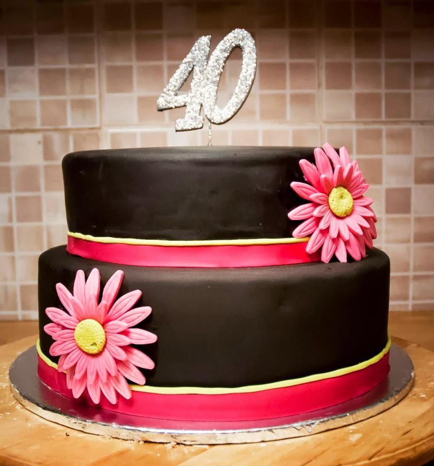 40Th Birthday Cake  Creative 40th Birthday Cake Ideas Crafty Morning