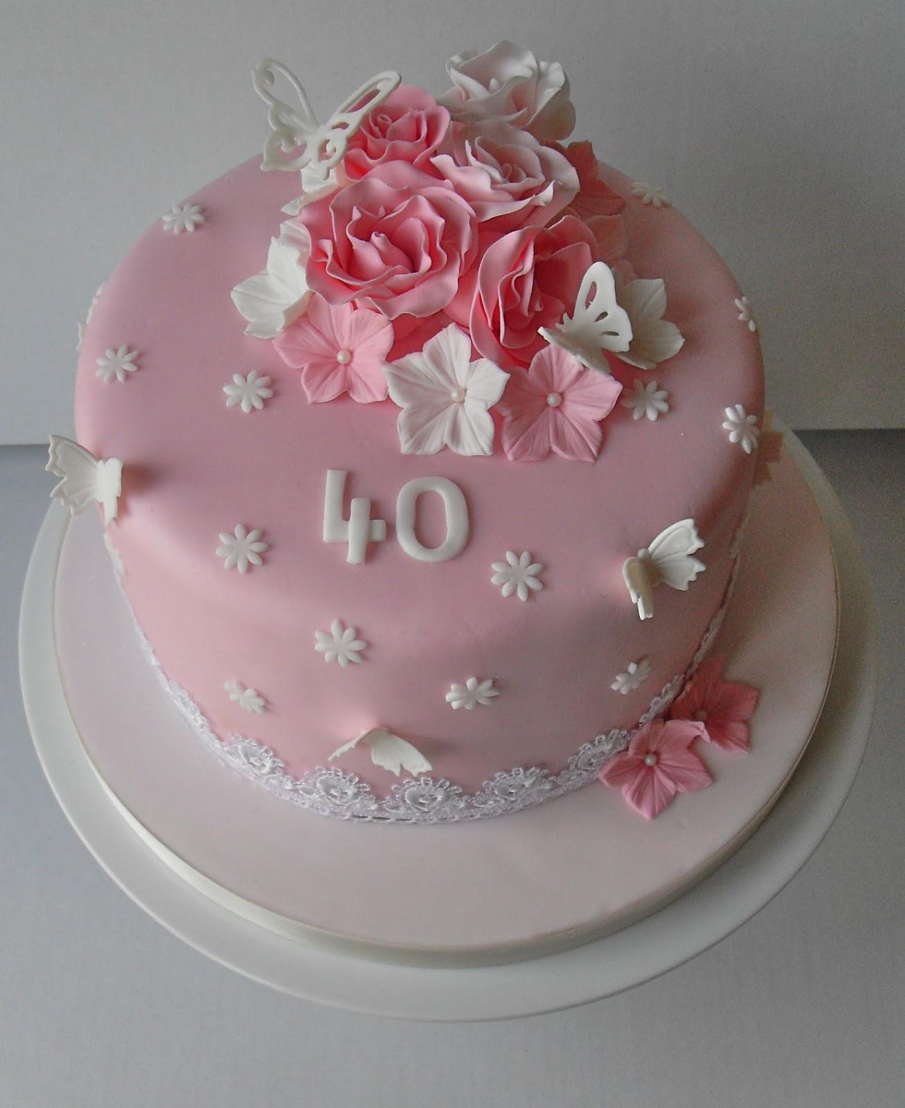40Th Birthday Cake  40th Birthday Cake Cake Pops