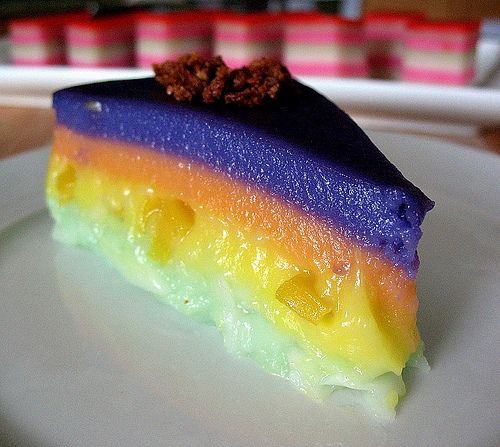 52 Filipino Desserts Recipes  Sapin sapin Layered steamed cakes