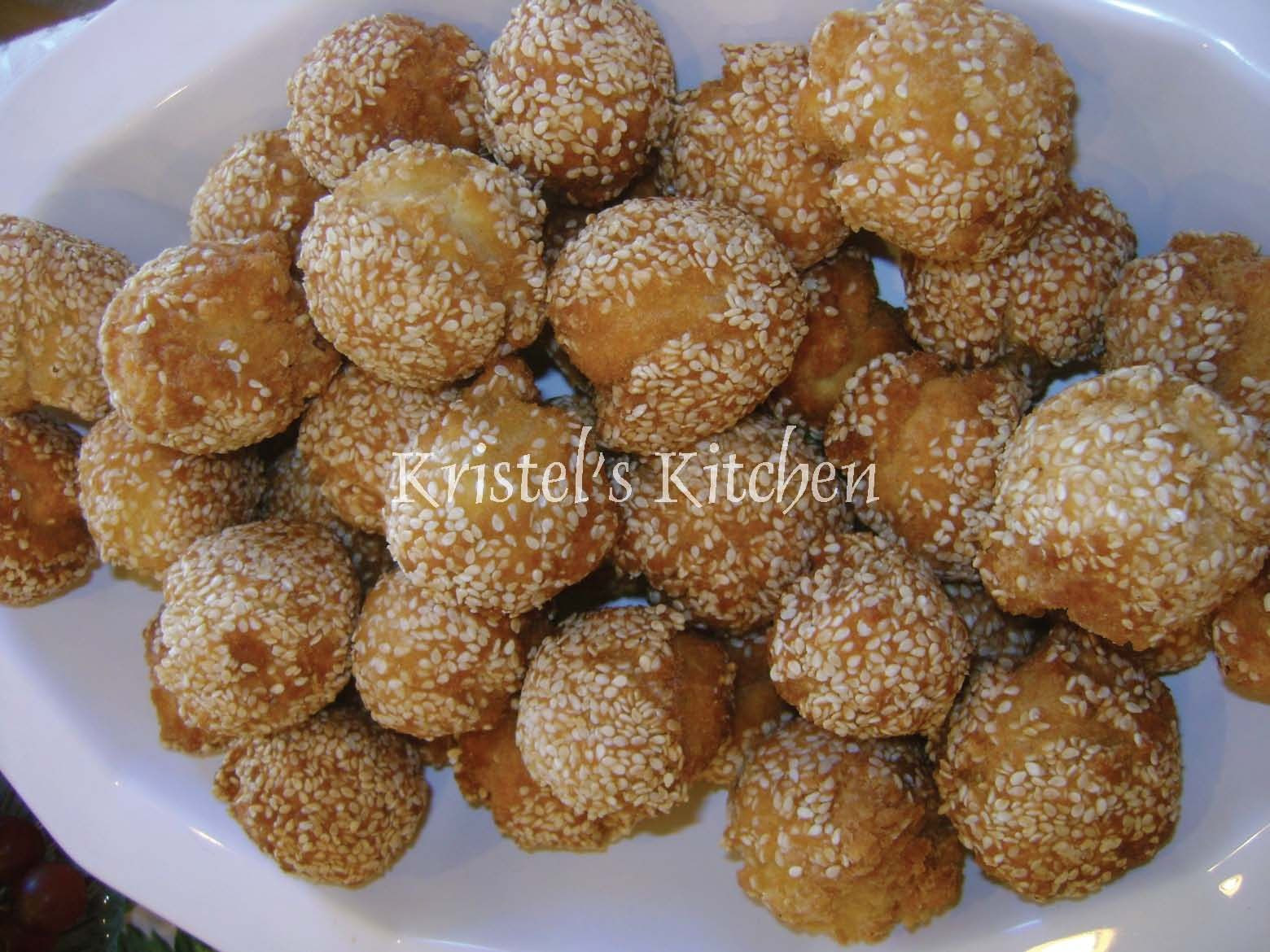 52 Filipino Desserts Recipes  Kristel s Kitchen Binangkal Sesame Seed Balls