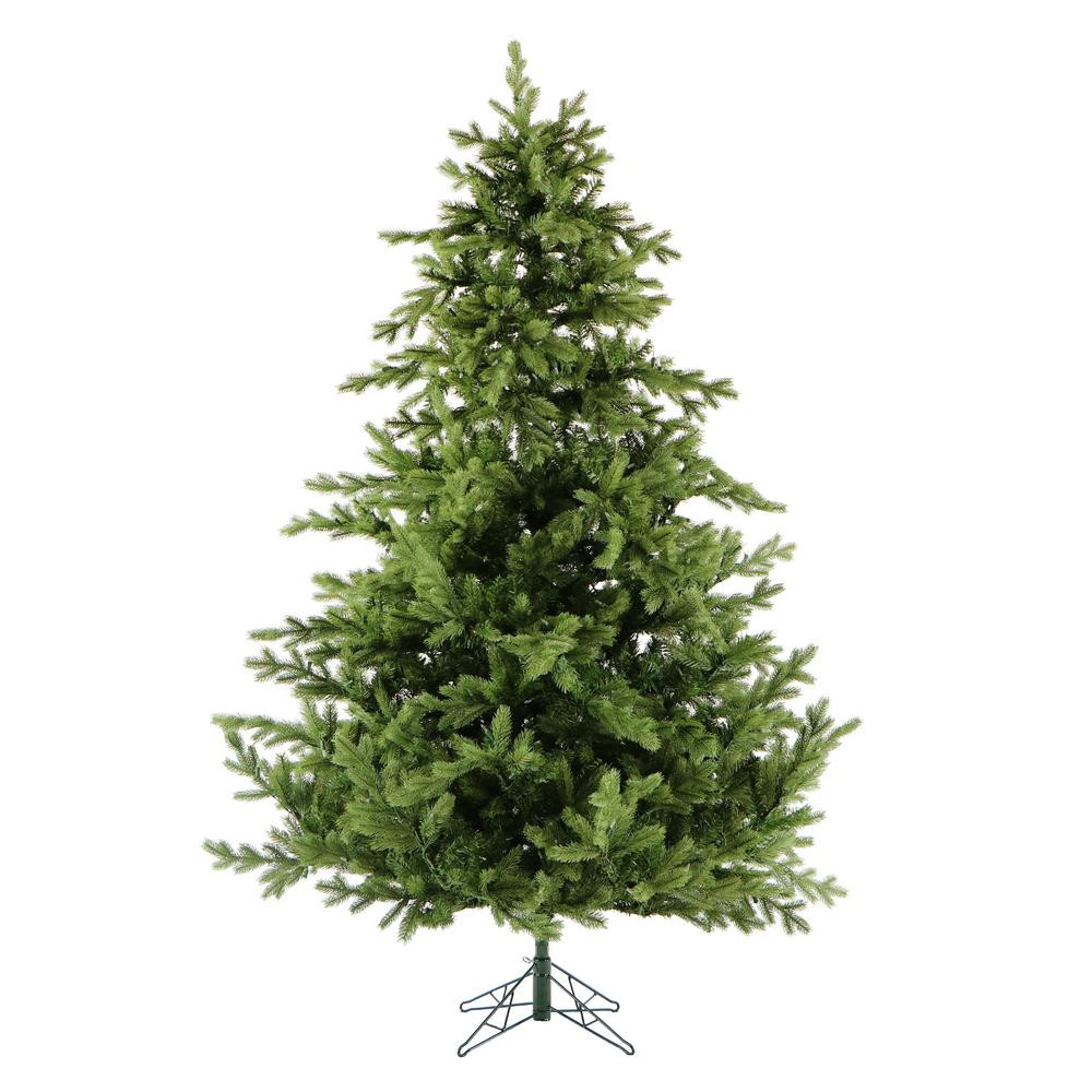 6.5 Ft. Verde Spruce Artificial Christmas Tree With 400 Clear Lights, Greens  Home Accents Holiday 7 5 ft Unlit Wesley Mixed Spruce
