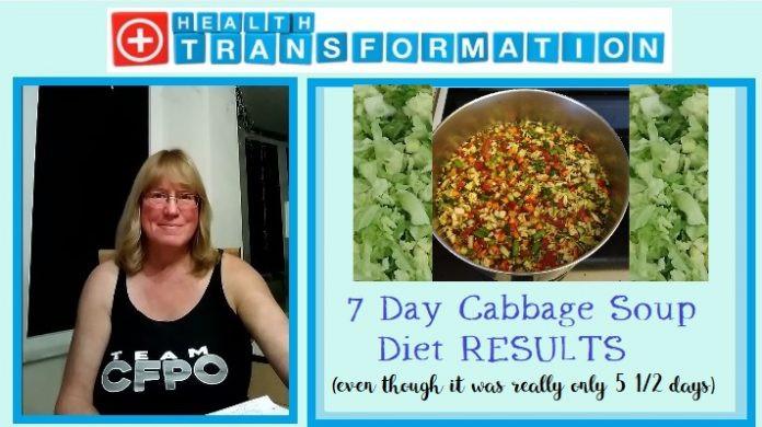 7 Day Cabbage Soup Diet  My 7 Day Cabbage Soup Diet Results