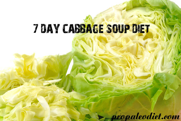 7 Day Cabbage Soup Diet  7 Day Cabbage Soup Diet Ideal for Weight Loss Pro Paleo