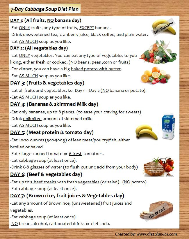 7 Day Cabbage Soup Diet  Does 7 Day Cabbage Soup Diet Plan Really Work