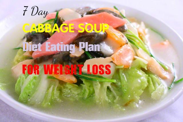 7 Day Cabbage Soup Diet  7 Day Cabbage Soup Diet Recipe dotoday