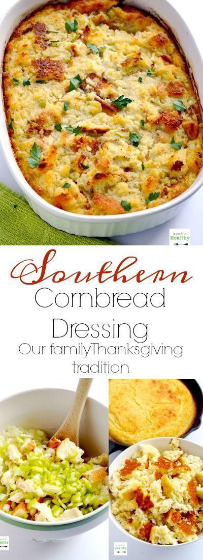 African American Cornbread Dressing Recipes  Southern Cornbread Dressing Recipe
