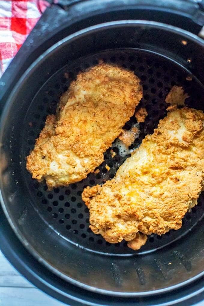 Air Fried Chicken Breast  Air Fryer Chicken Breast Recipe Gluten Free Low Carb