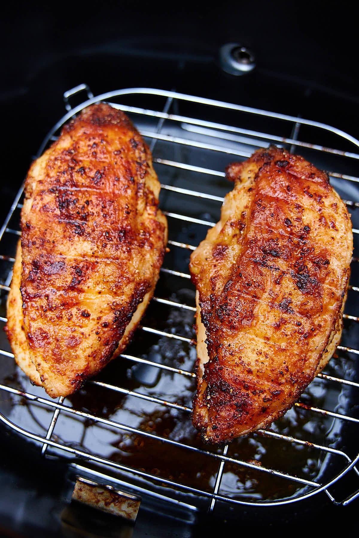 Air Fried Chicken Breast  Air Fryer Sesame Chicken Breast i FOOD Blogger