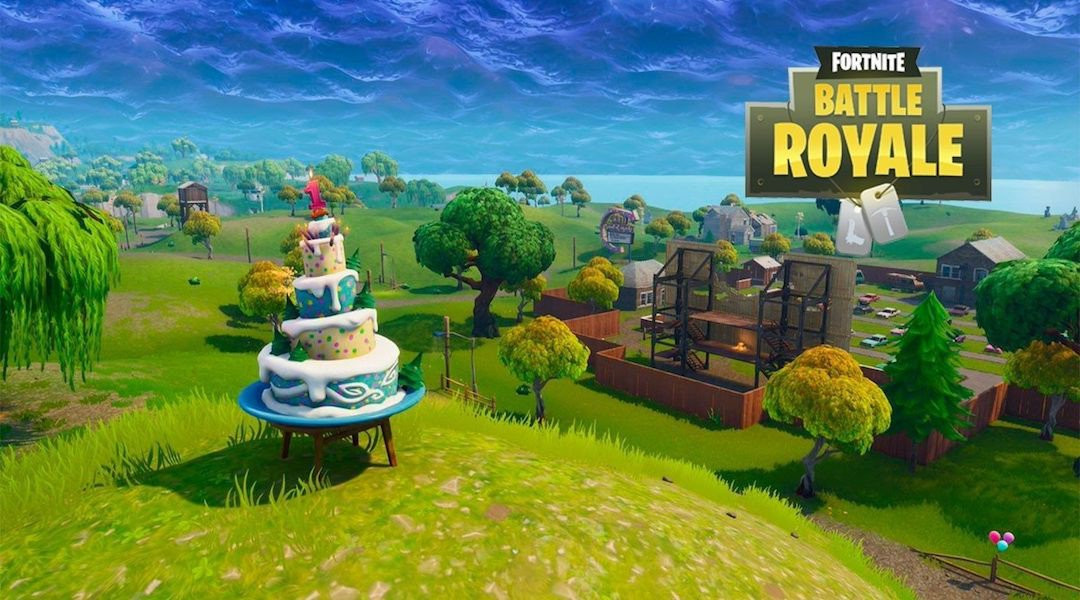 All Birthday Cake Locations  Fortnite Where to Find All the Birthday Cake Locations
