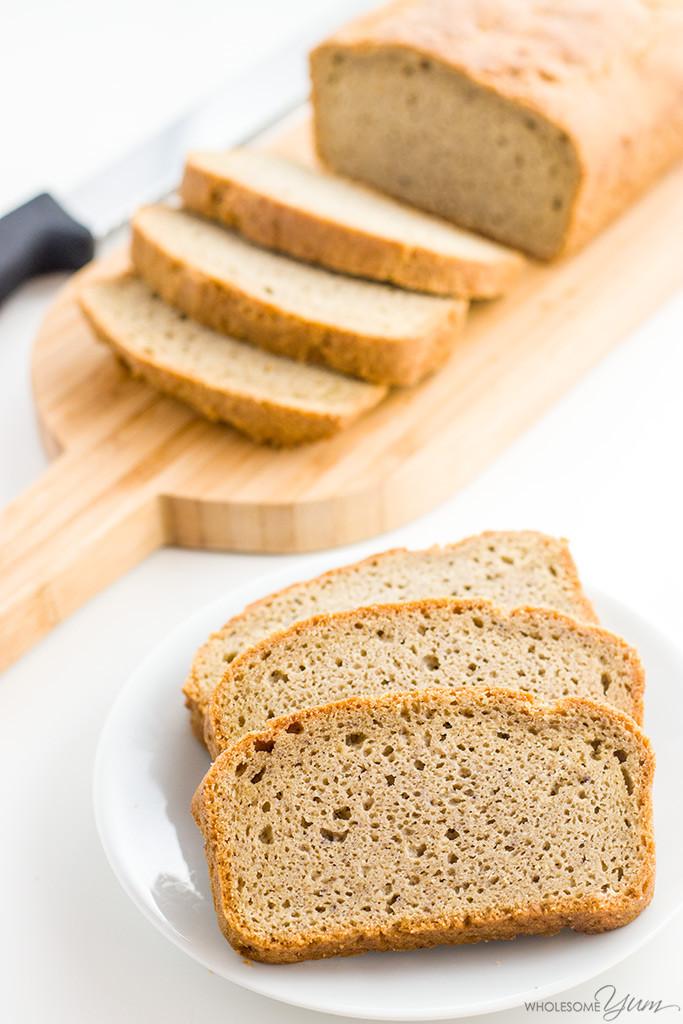 Almond Flour Bread Recipes  Easy Low Carb Bread Recipe Almond Flour Bread Paleo