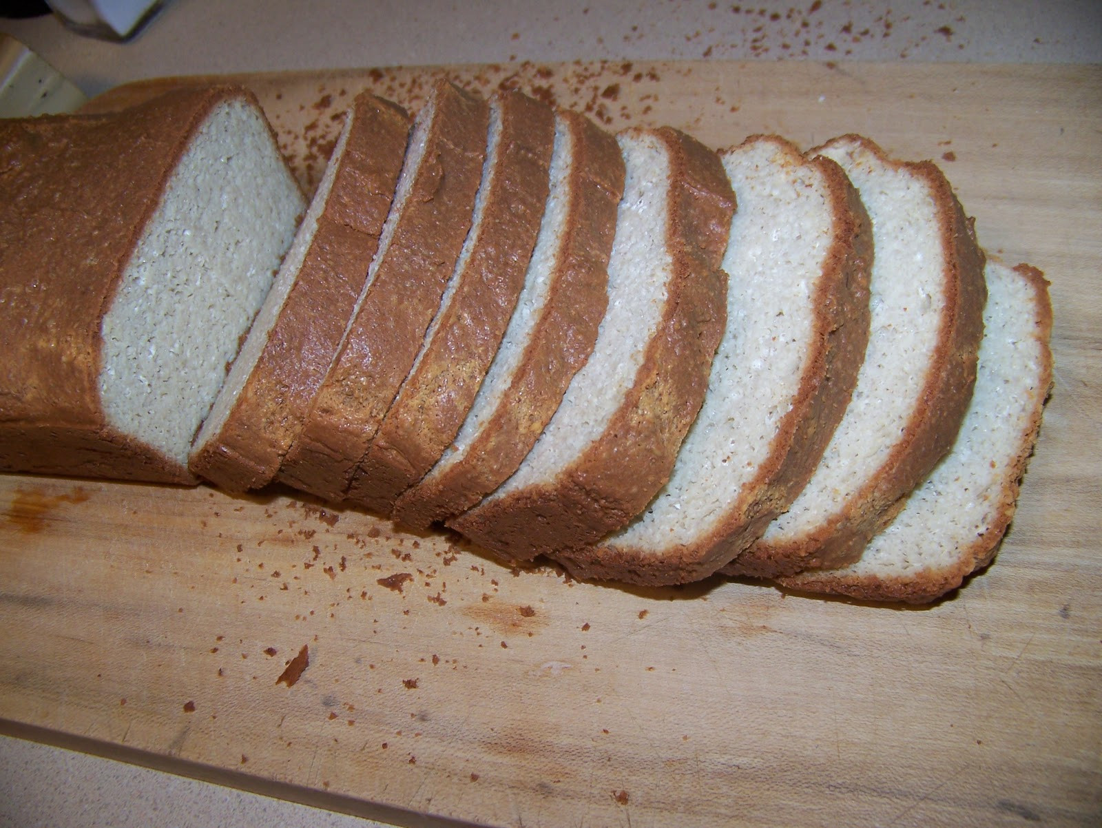 Almond Flour Bread Recipes  Ginny s Low Carb Kitchen Almond Bread for stuffing or eating
