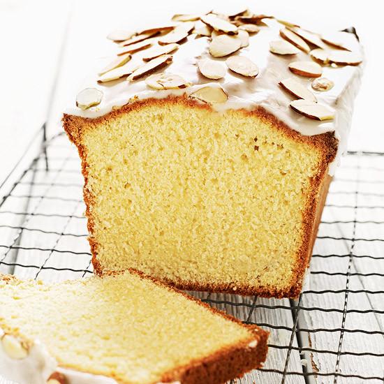 Almond Pound Cake  Glazed Almond Pound Cake