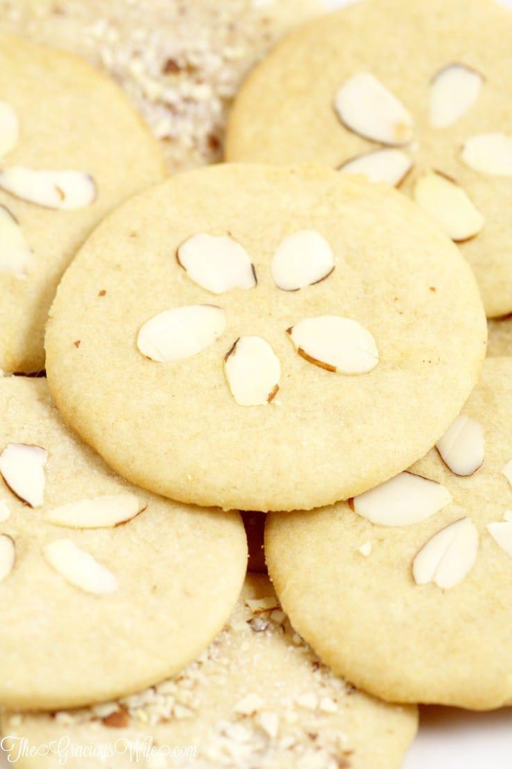 Almond Sugar Cookies  Almond Brown Sugar Sand Dollar Cookies