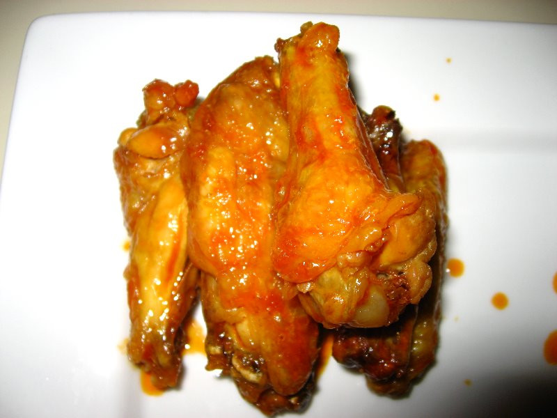 Alton Brown Chicken Wings  Alton Brown Steamed Baked Chicken Wings 040