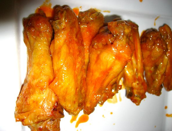 Alton Brown Chicken Wings  Alton Brown Steamed Baked Chicken Wings 038
