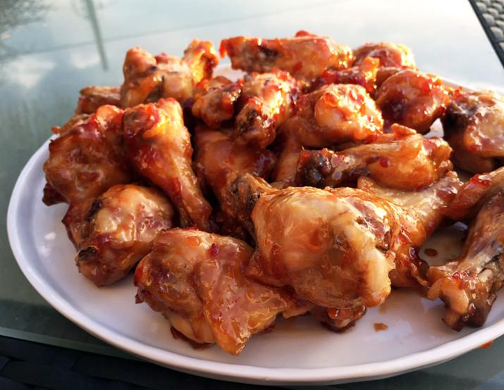 Alton Brown Chicken Wings  Chili Glazed Wings ALTON BROWN