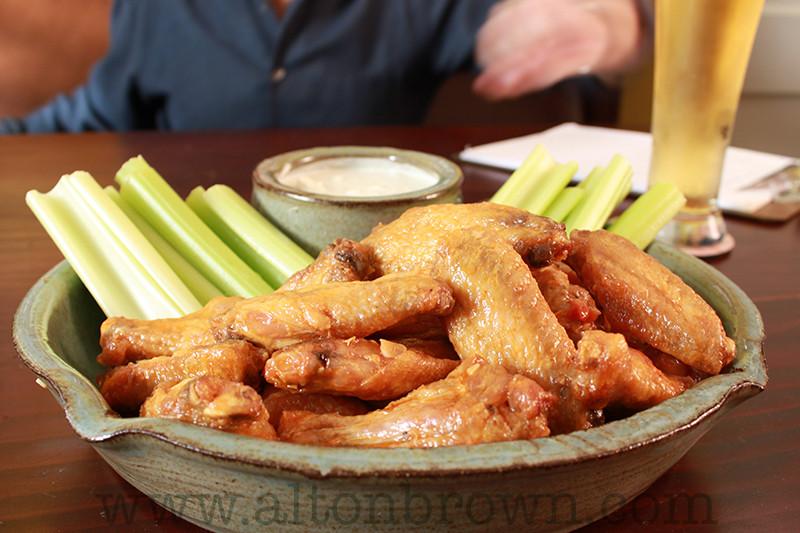 Alton Brown Chicken Wings  Alton Brown s Buffalo Wing Recipe