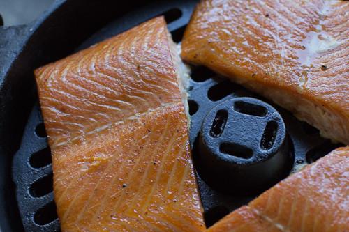Alton Brown Smoked Salmon  Smoked Salmon in the Ultimate Dutch Oven