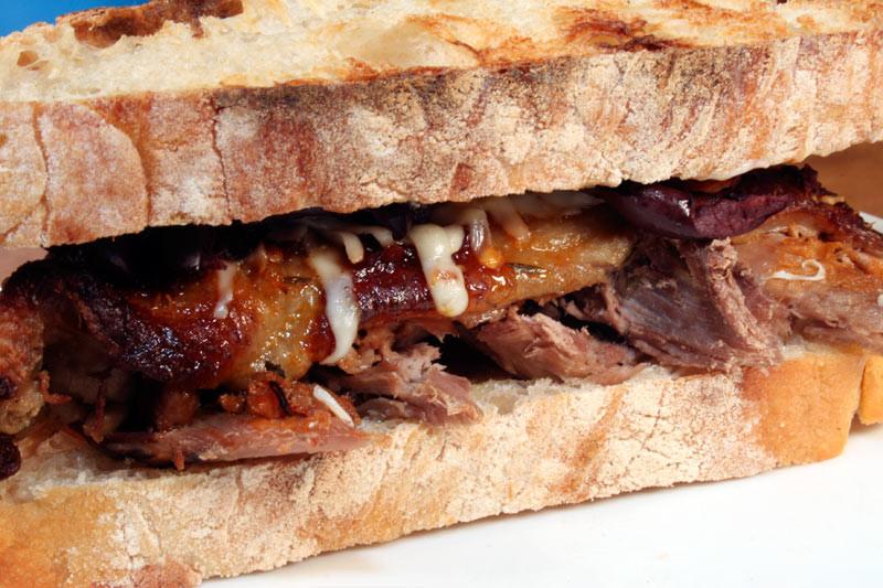 Alton Brown Smoked Salmon  ciabatta bread sandwich recipes