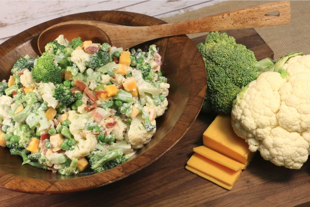Amish Broccoli Salad  Amish Style Broccoli Salad