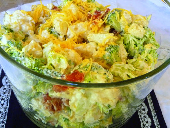 Amish Broccoli Salad  SPLENDID LOW CARBING BY JENNIFER ELOFF AMISH BROCCOLI SALAD