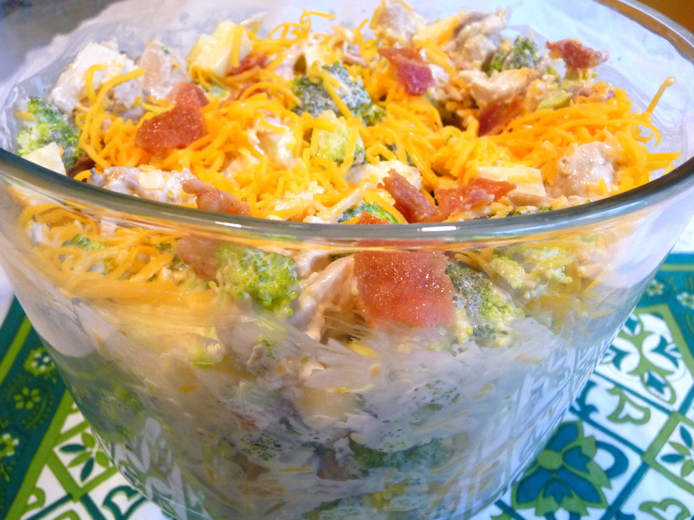 Amish Broccoli Salad  SPLENDID LOW CARBING BY JENNIFER ELOFF AMISH BROCCOLI