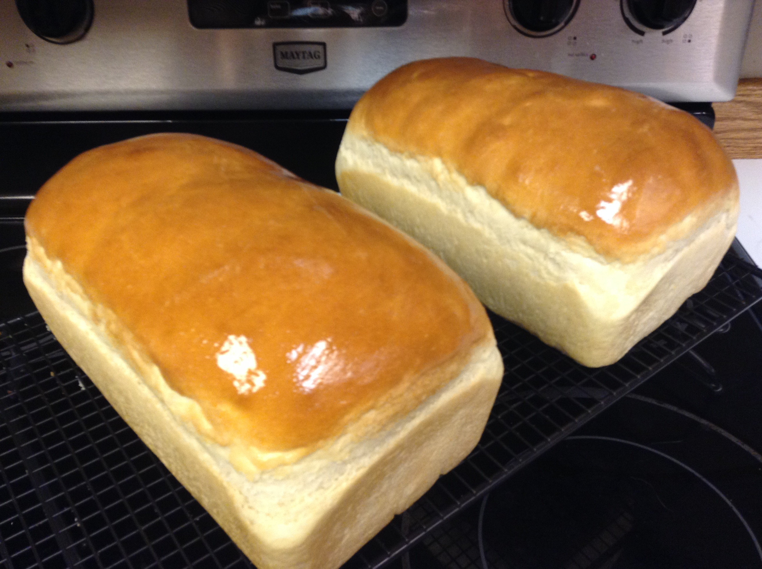 Amish White Bread  Homemade Amish White Bread – Scratch this with Sandy