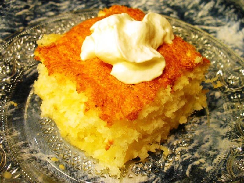 Angel Food Cake And Pineapples  Easy Dump Cake Angel Food Pineapple Cake Recipe by Lynne