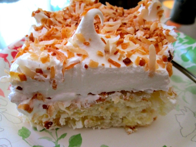 Angel Food Cake And Pineapples  Heavenly Pineapple Angel Food Cake