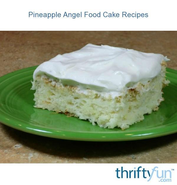 Angel Food Cake And Pineapples  Pineapple Angel Food Cake Recipes