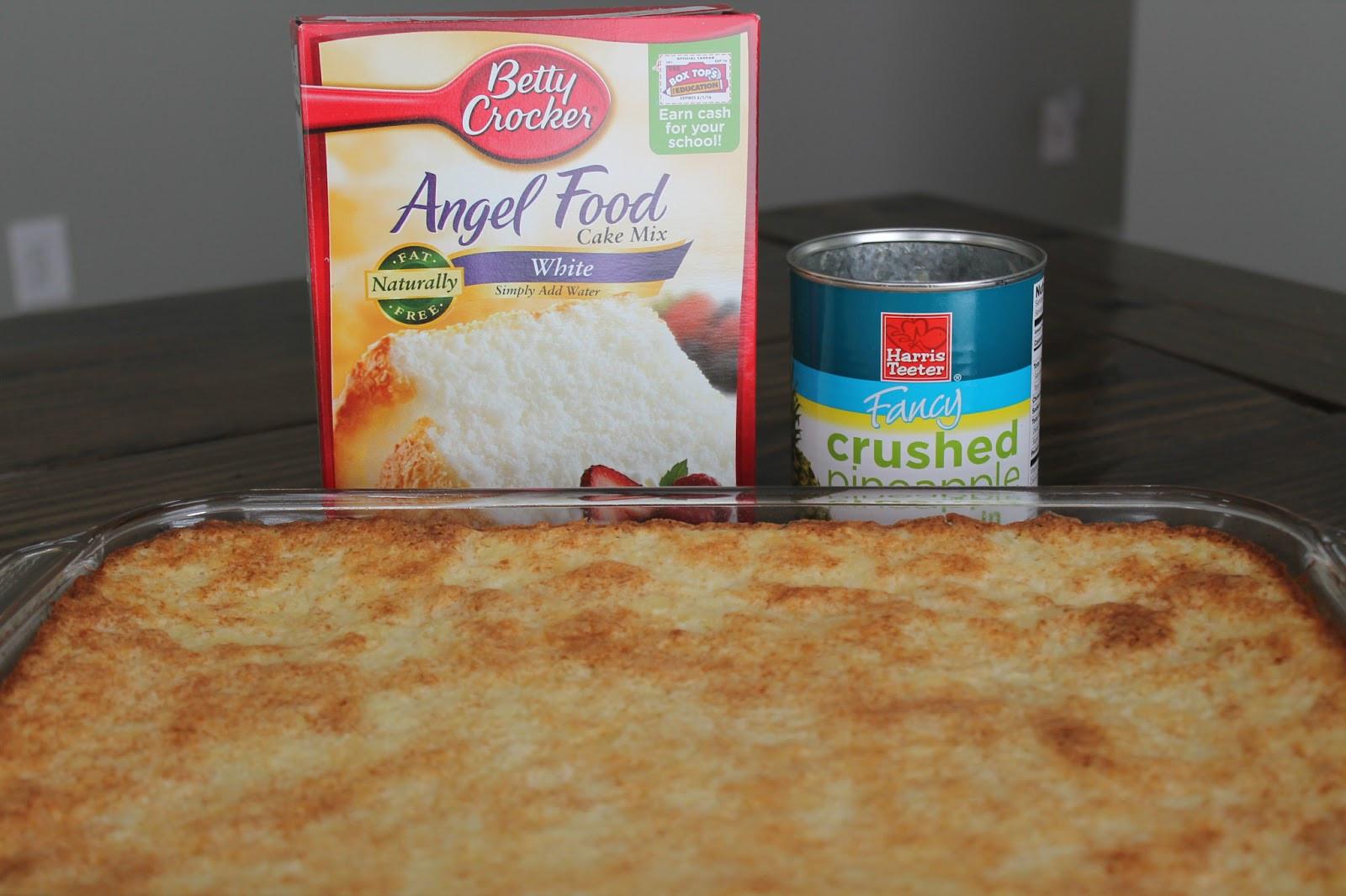 Angel Food Cake And Pineapples  Pineapple Angel Food Cake Carolina Charm