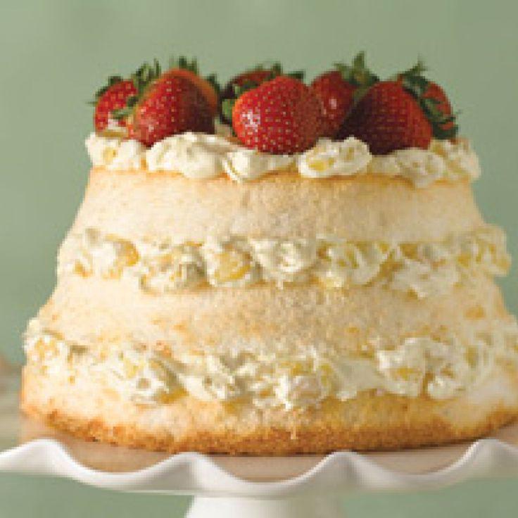 Angel Food Cake Recipes  dole pineapple angel food cake recipe