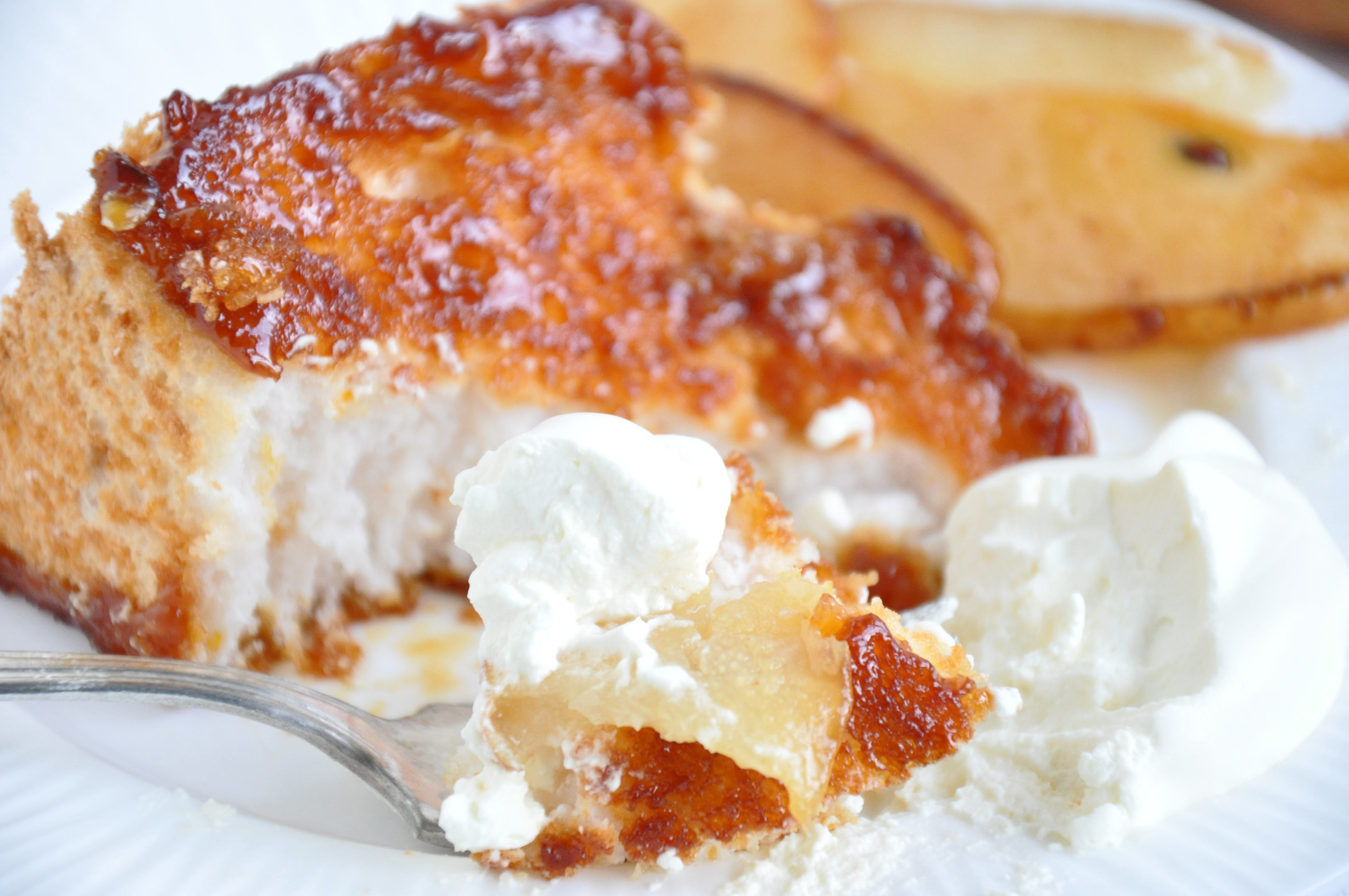 Angel Food Cake Recipes  Lacquered Angel Food Cake Sifting Focus