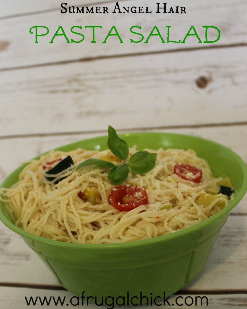 Angel Hair Pasta Salad  Angel Hair Pasta Salad Recipe